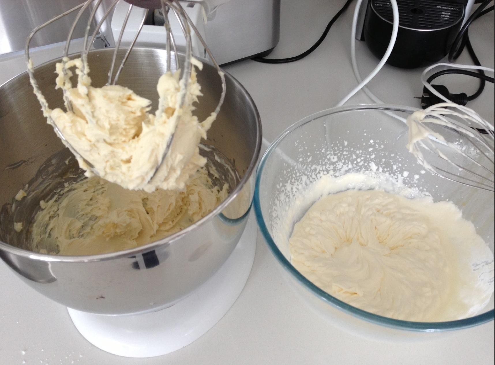 cheesecake mixture