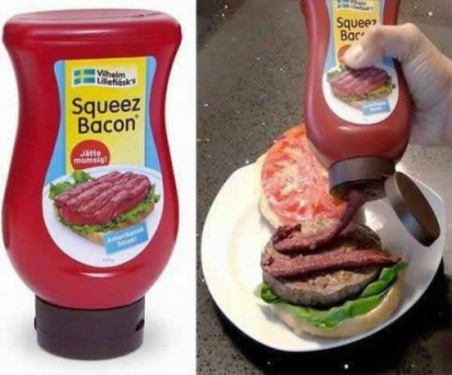 bacon squeeze