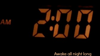 awake all night